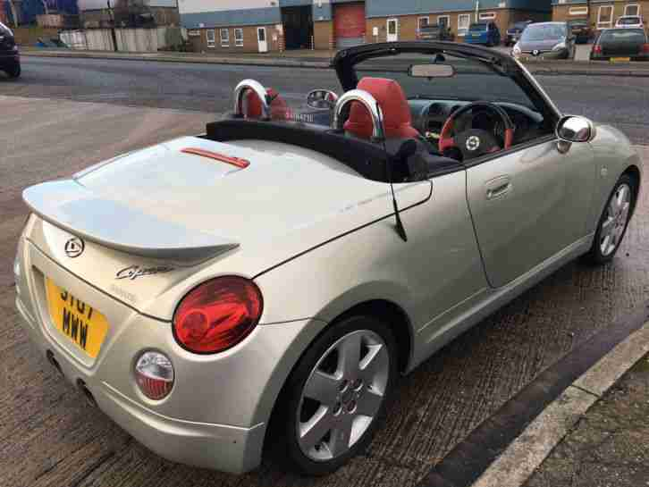 2007 Daihatsu Copen 1.3 Roadster 72,000 miles CHEAPEST ANYWHERE HPI CLEAR