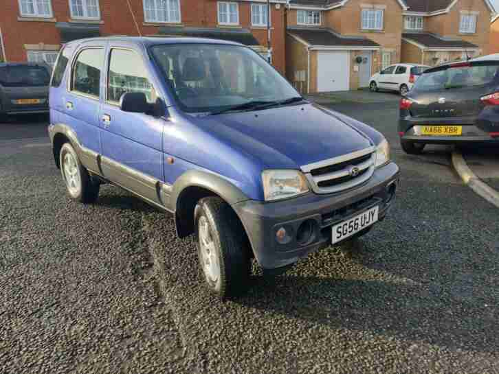 2007 Terios 1.3 Tracker 4x4 29k
