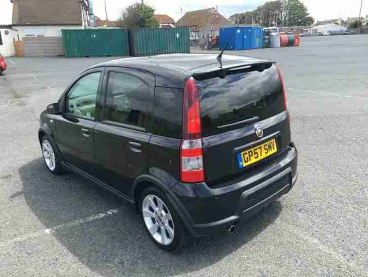 fiat 2007 panda abarth 100hp damaged repairable salvage spares car for sale. Black Bedroom Furniture Sets. Home Design Ideas