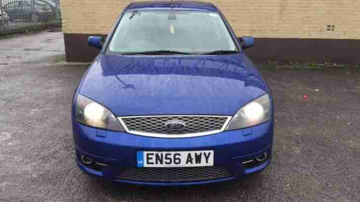 ford 2007 mondeo st 2 2 tdci 155hp performance blue car. Black Bedroom Furniture Sets. Home Design Ideas