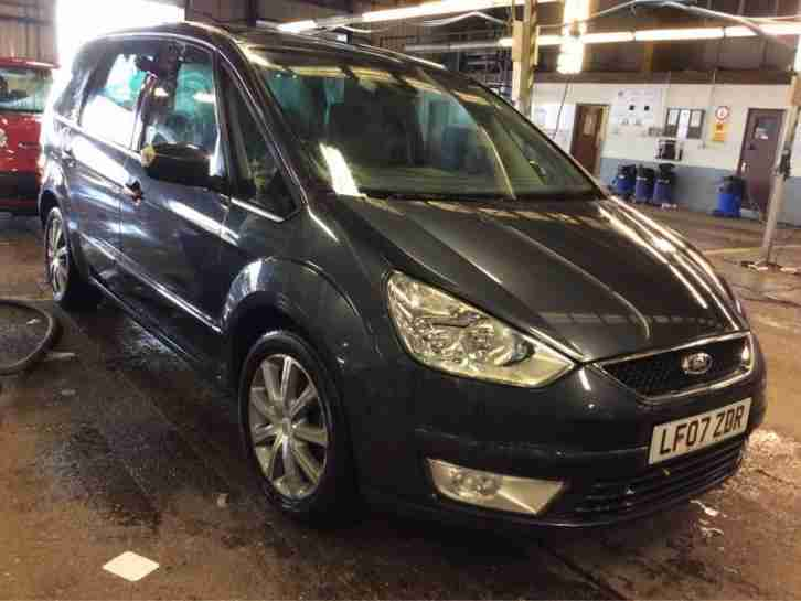 2007 Ford Galaxy 2.0TDCi ( 140ps ) Ghia 1 OWNER,LEATHER,PANORAMIC ROOF,2 KEYS