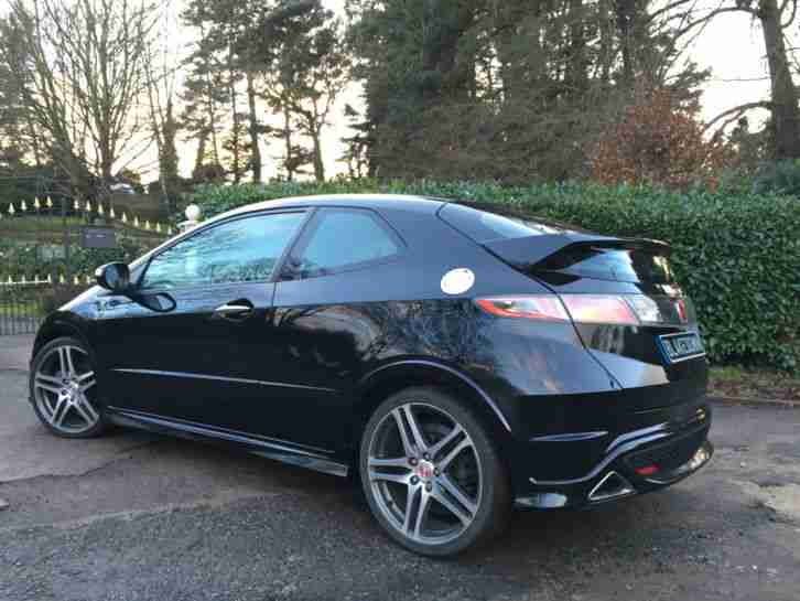 honda 2007 civic type r gt i vtec black 12 months mot fsh low. Black Bedroom Furniture Sets. Home Design Ideas