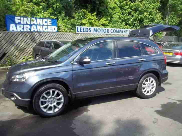2007 HONDA CR V 2.2 i CTDi EX LEATHER SATNAV PAN SUNROOF