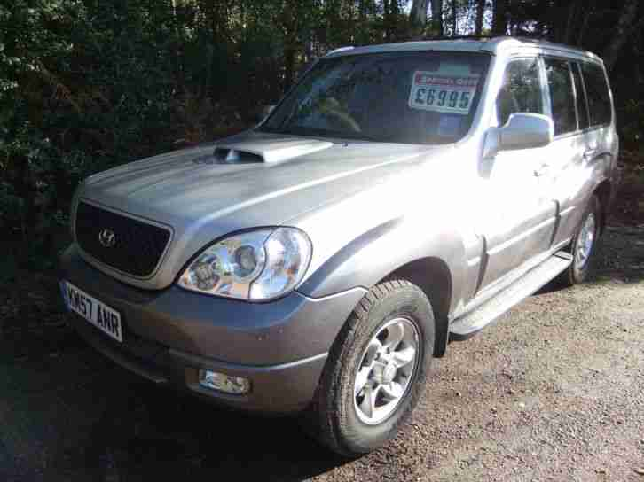2007 HYUNDAI TERRACAN LIMITED 2.9 CRTD