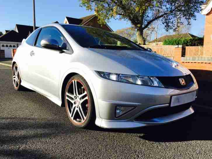honda 2007 civic type r gt fn2 rage alloys silver car for sale. Black Bedroom Furniture Sets. Home Design Ideas