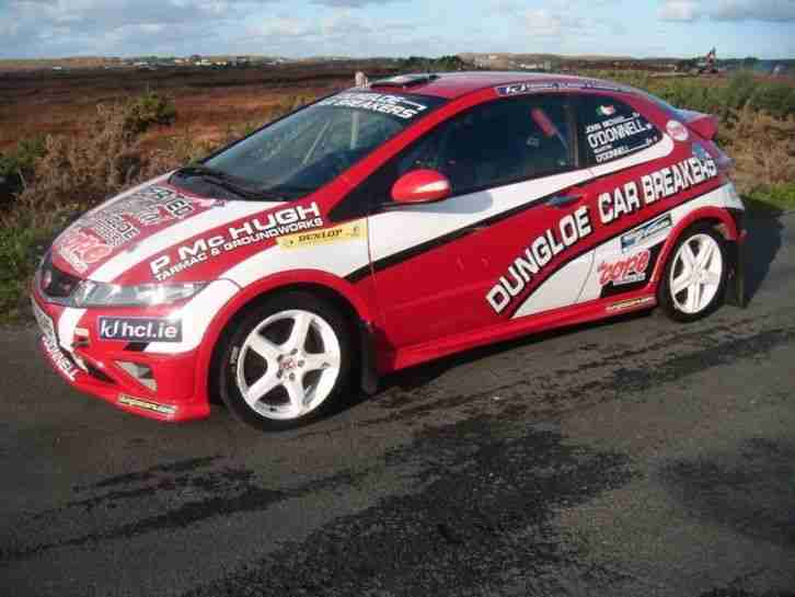 Honda 2007 Civic Type R Rally Car Car For Sale