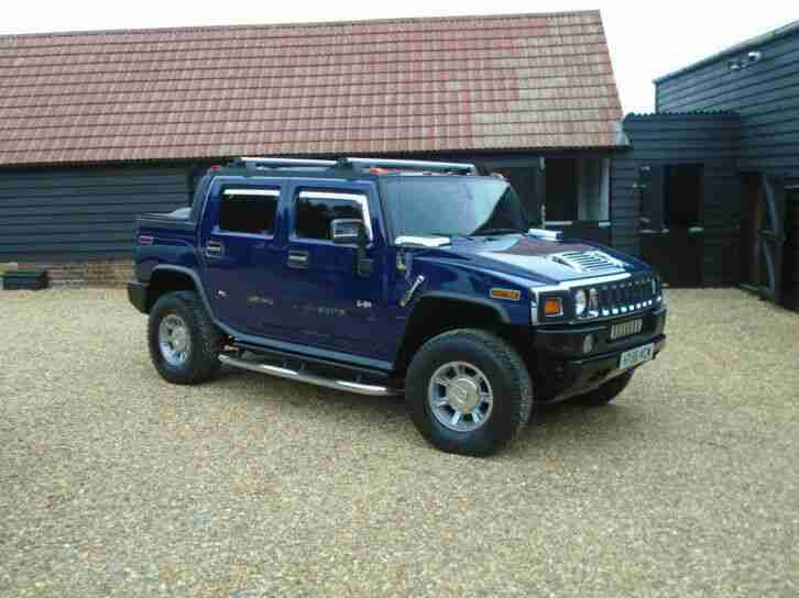 2007 H2 Lux 6.2 V8 Vortec SUT Pick Up