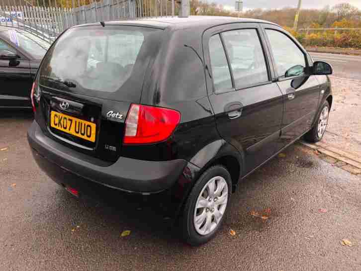 2007 Hyundai Getz 1.1 LOW MILEAGE CHEAP INSURANCE FIVE DOOR