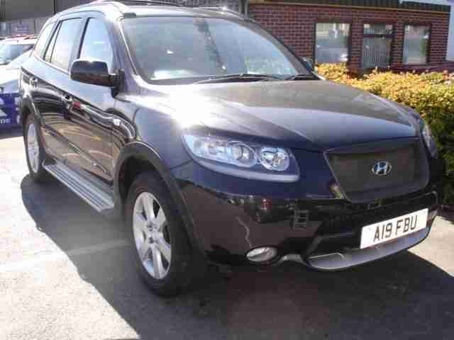 2007 Hyundai Santa Fe 2.2 CRTD CDX 5dr [7 Seats] 5 door Estate