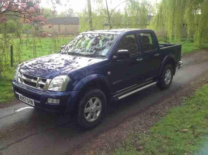 Isuzu 2007 Truck Blue 57 Plate Rodeo D Max Ltd Edition 4 X