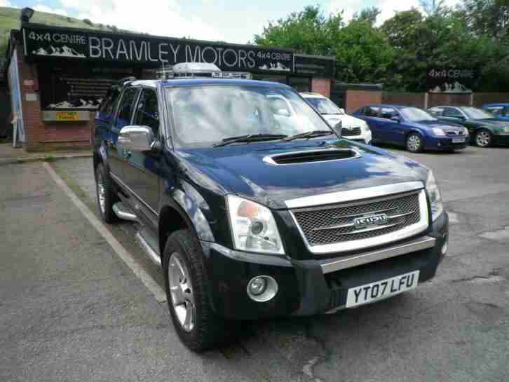 2007 Isuzu Rodeo 2.5 TD Denver Max LIMITED EDITION EXCELLENT NO VAT