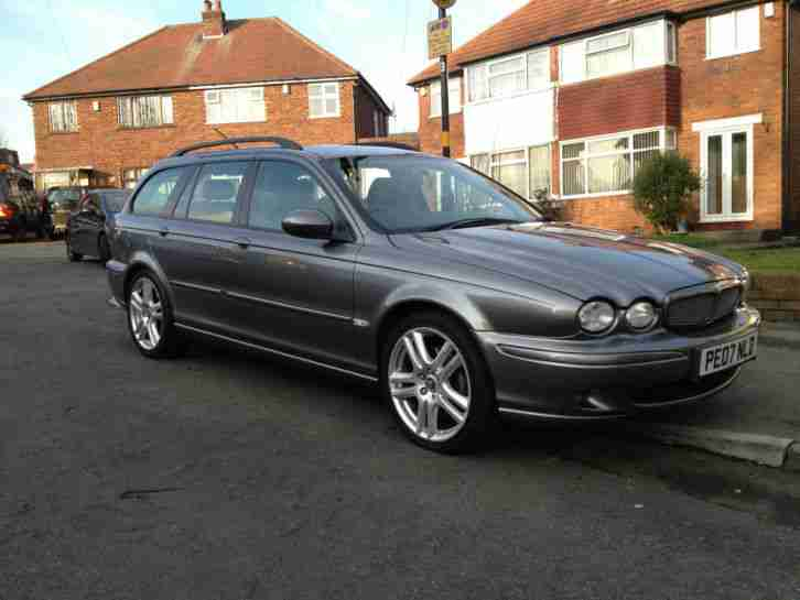 jaguar 2007 x type sport d grey diesel estate car for sale. Black Bedroom Furniture Sets. Home Design Ideas