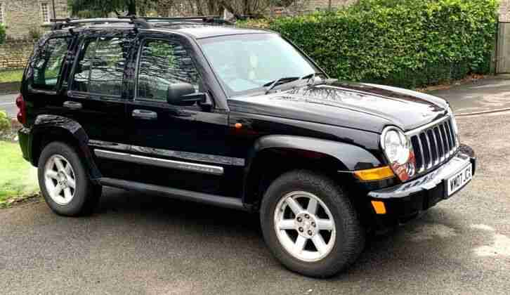 2007 JEEP CHEROKEE LIMITED CRD ESTATE DIESEL AUTO