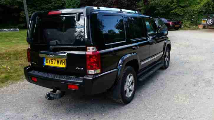 jeep 2007 commander 3 0 crd auto limited 4x4 7 seater. Black Bedroom Furniture Sets. Home Design Ideas