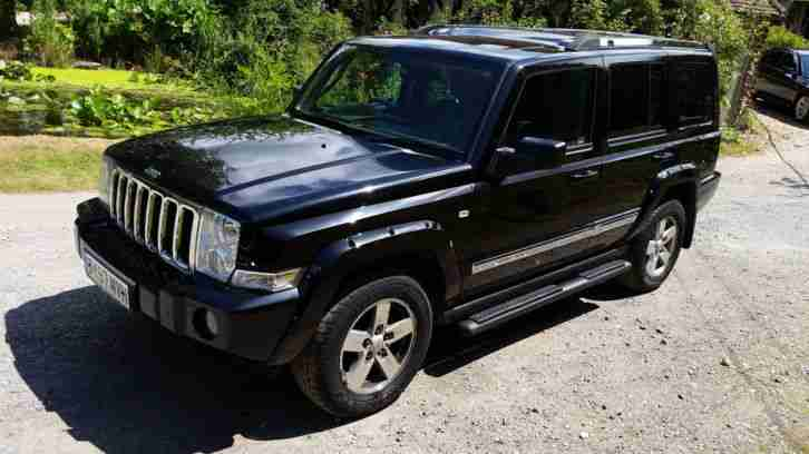 jeep 2007 commander 3 0 crd auto limited 4x4 7 seater towbar l k no. Black Bedroom Furniture Sets. Home Design Ideas