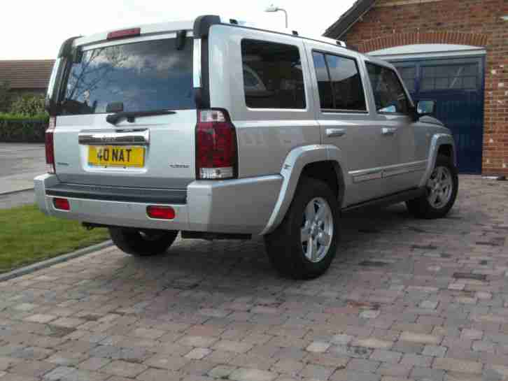 2007 JEEP COMMANDER LIMITED 3.0 CRD AUTOMATIC