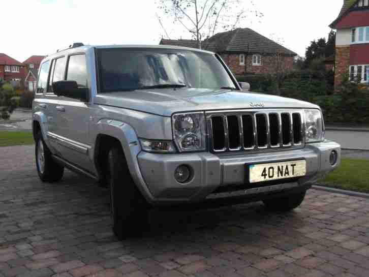jeep 2007 commander limited 3 0 crd automatic car for sale. Black Bedroom Furniture Sets. Home Design Ideas