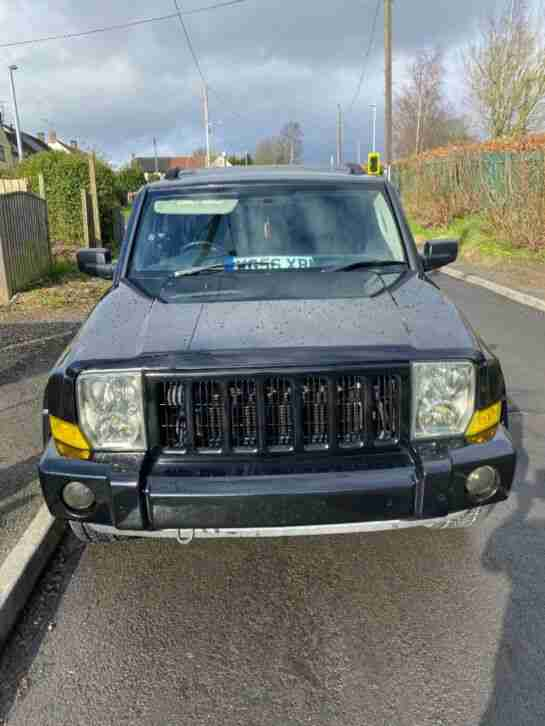 2007 JEEP COMMANDER LIMITED EDITION WILL COME WITH 12 MONTHS MOT
