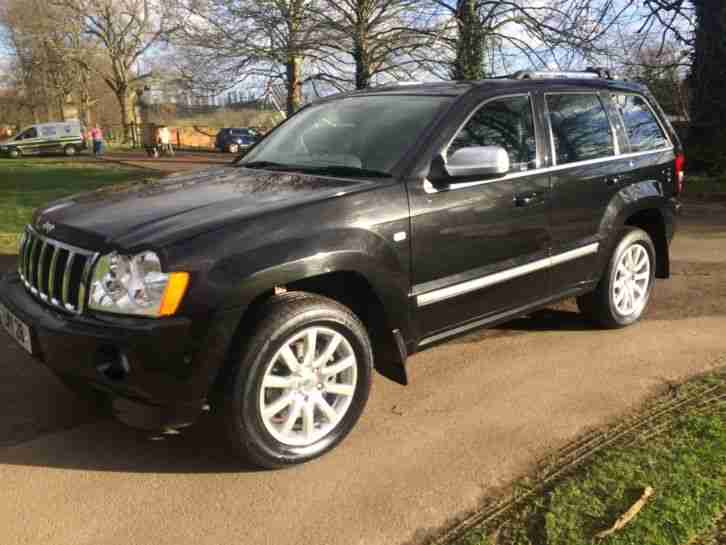 jeep 2007 grand cherokee 3 0 crd auto overland car for sale. Black Bedroom Furniture Sets. Home Design Ideas