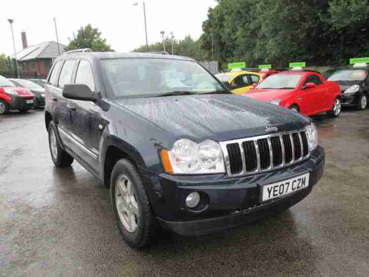 jeep 2007 grand cherokee 3 0 crd limited auto car for sale. Black Bedroom Furniture Sets. Home Design Ideas