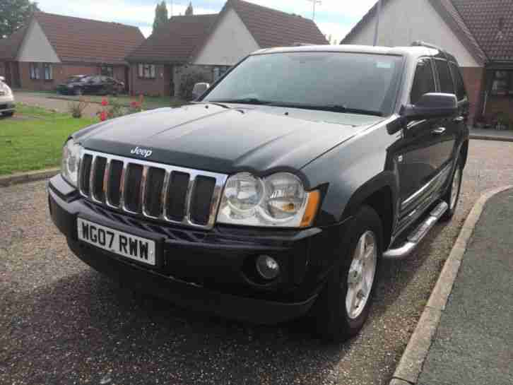 2007 JEEP GRAND CHEROKEE CRD LTD AUTO.
