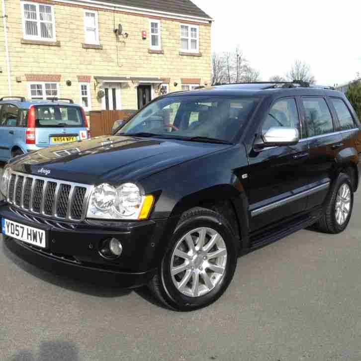 jeep 2007 grand cherokee overland 3 0crd v6 auto stunning. Black Bedroom Furniture Sets. Home Design Ideas