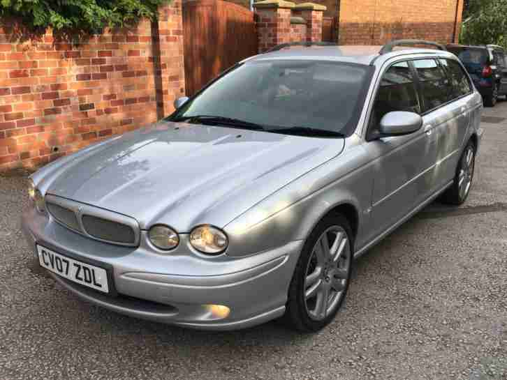 2007 Jaguar X TYPE 2.2D Sport Premium, 12 MONTHS MOT, JUST SERVICED, 2 OWNER!