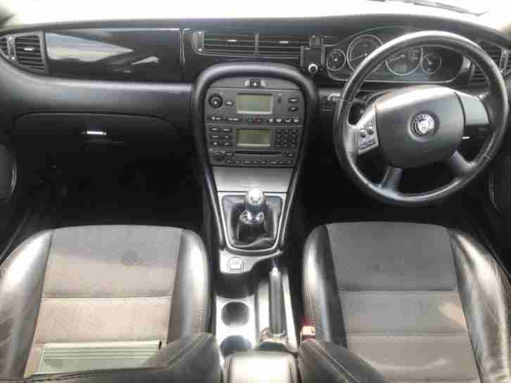 2007 Jaguar X-Type 2.0 D Sport 4dr 2 PREV OWNER+HALF LEATHER