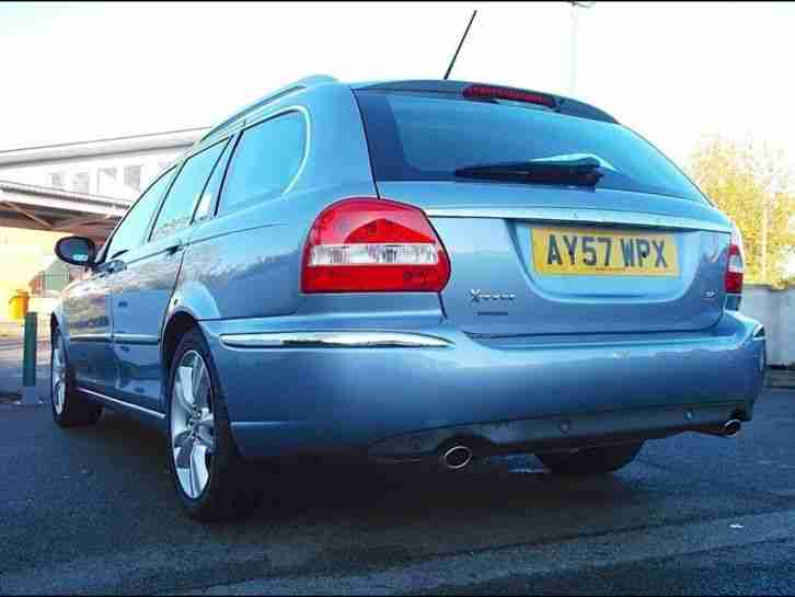2007 Jaguar X Type Estate 3.0 V6 Sovereign 5dr Auto Petrol Blue Automatic