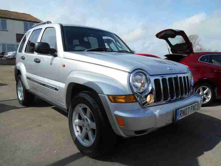 jeep 2007 cherokee 2 8 crd limited 4x4 diesel car for sale. Black Bedroom Furniture Sets. Home Design Ideas