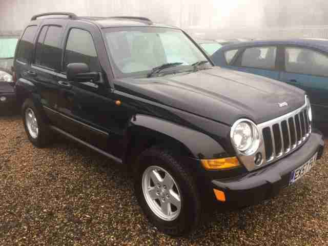 jeep 2007 cherokee 2 8 crd sport diesel auto 4x4 63000 miles full serv. Black Bedroom Furniture Sets. Home Design Ideas
