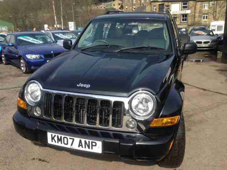jeep 2007 cherokee 2 8 crd auto limited diesel car for sale. Black Bedroom Furniture Sets. Home Design Ideas