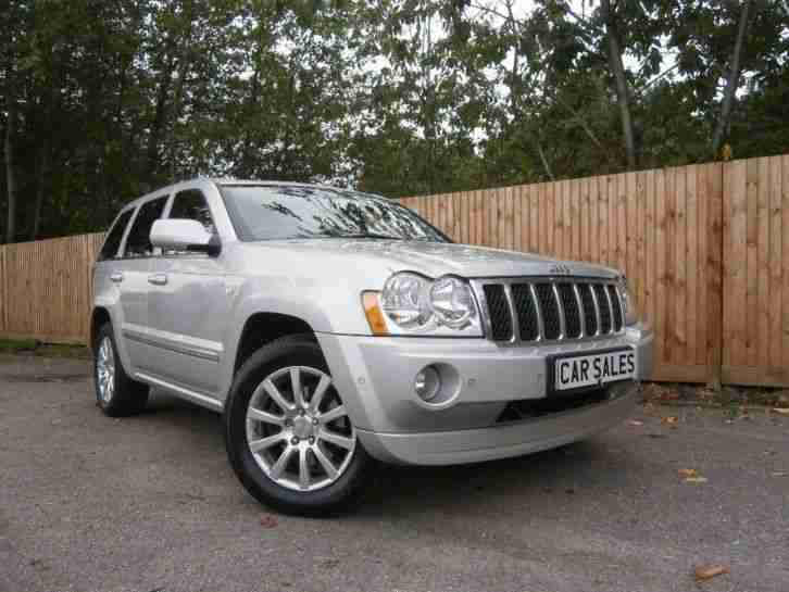 jeep 2007 grand cherokee 3 0 crd overland 5dr auto car for sale. Black Bedroom Furniture Sets. Home Design Ideas