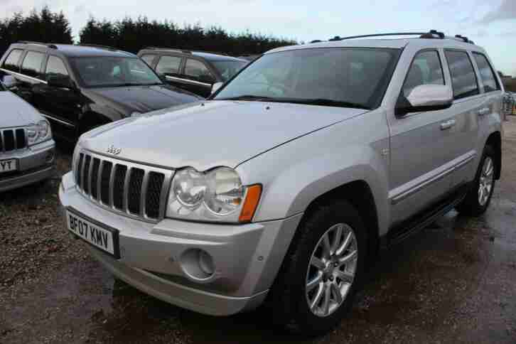 2007 Jeep Grand Cherokee 3.0 CRD V6 Overland 4x4 5dr