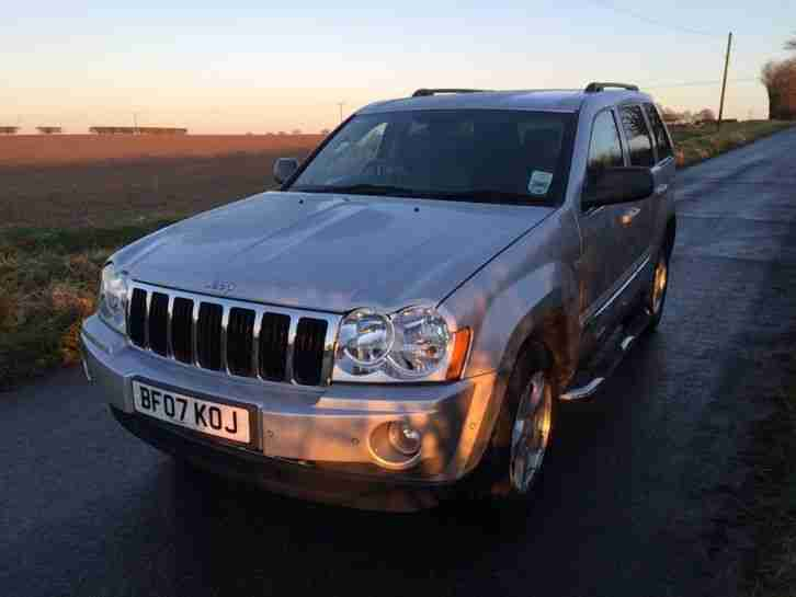 2007 Jeep Grand Cherokee 3.0CRD Limited 5dr 4WD