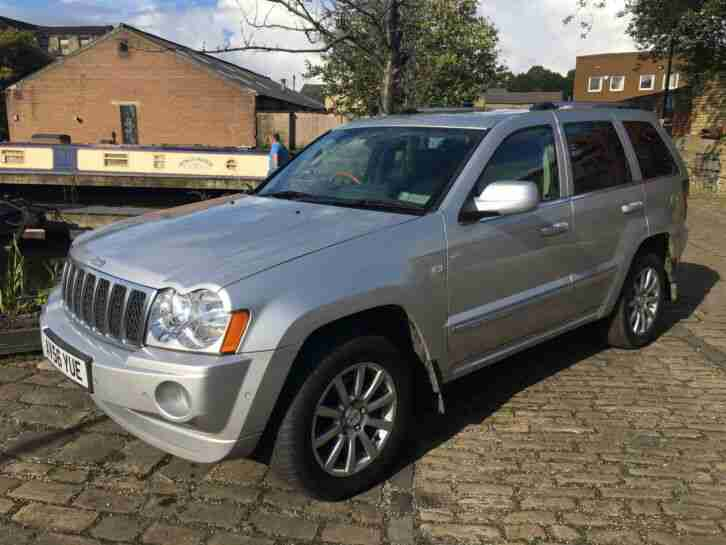 2007 Jeep Grand Cherokee 3.0CRD V6 auto Overland 4X4 DIESEL