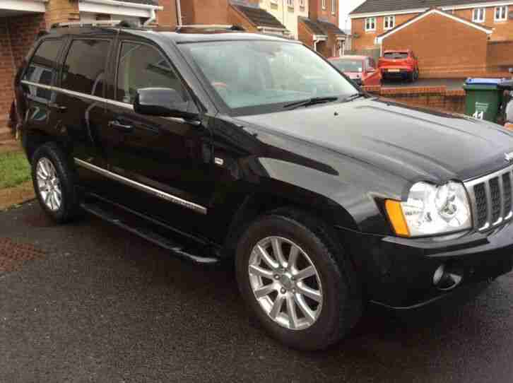 2007 Jeep Grand Cherokee Overland 3.0 CRD SPARES Or REPAIRS