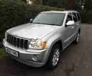 2007 Jeep Grand Cherokee Overland 3.0 CRD V6