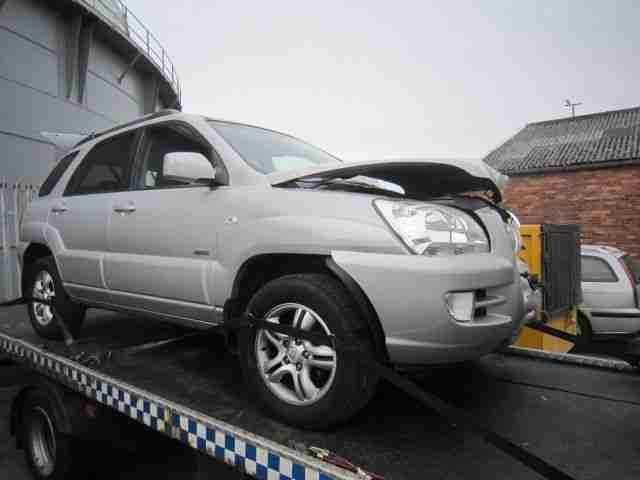 2007 KIA SPORTAGE XS SILVER 5DR 1991CC TURBO DIESEL CURRENTLY BREAKING FOR PARTS