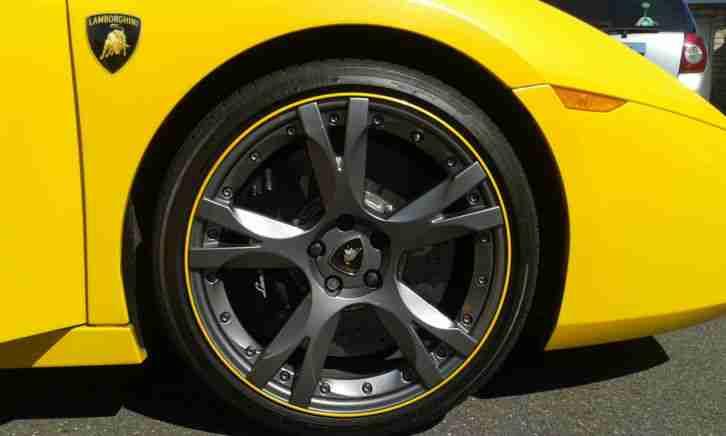 Lamborghini 2007 Gallardo Spyder Grigio Midas Auto Rare Carbon Ceramic