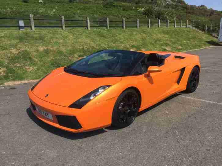 Lamborghini 2007 Gallardo Spyder Manual Fsh Great Spec Low Miles