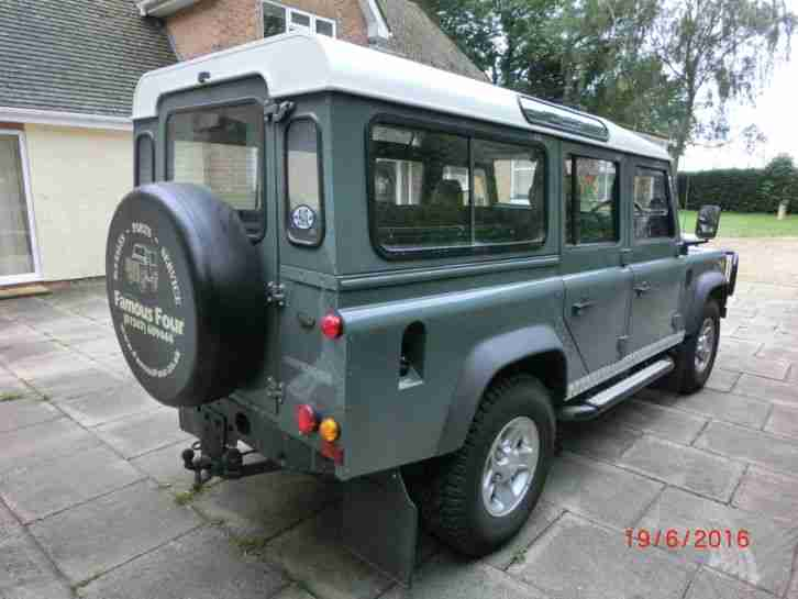 2007 LAND ROVER DEFENDER 110 TD5 COUNTRY STATION WAGON 9 SEATER. car