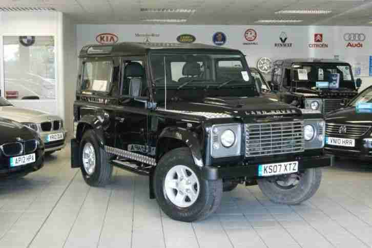 2007 land rover defender 90 xs station wagon 2 owners full. Black Bedroom Furniture Sets. Home Design Ideas