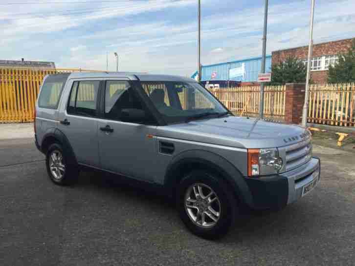 2007 LAND ROVER DISCOVERY TDV6 AUTO NOT