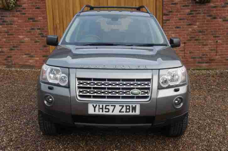 2007 LAND ROVER FREELANDER TD4 GS ONE FORMER KEEPER, FULL SERVICE HISTORY ESTATE