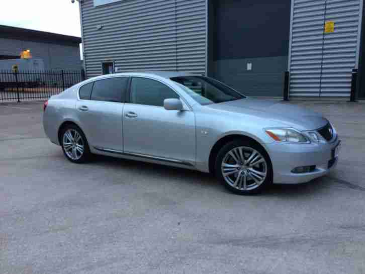 2007 LEXUS GS 450H SE L AUTO HYBRID ELECTRIC SILVER**LEATHER*NAV*CAMERA**PRIVACY