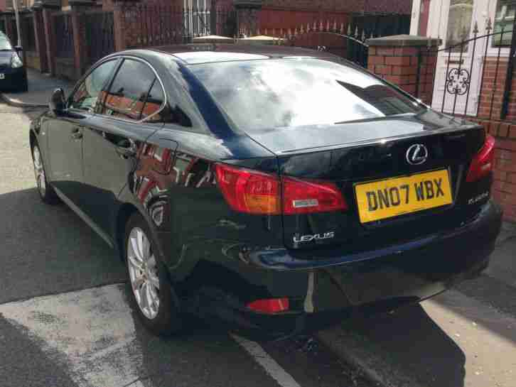 2007 LEXUS IS 220D BLACK