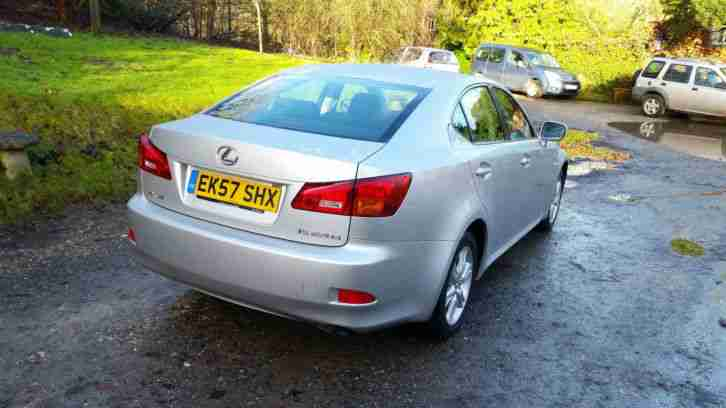 2007 IS 220D DIESEL 4 DOOR SALOON.. NON