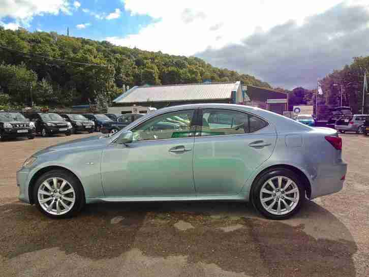 2007 LEXUS IS 220D SE - FULL LEATHER & FSH SALOON DIESEL