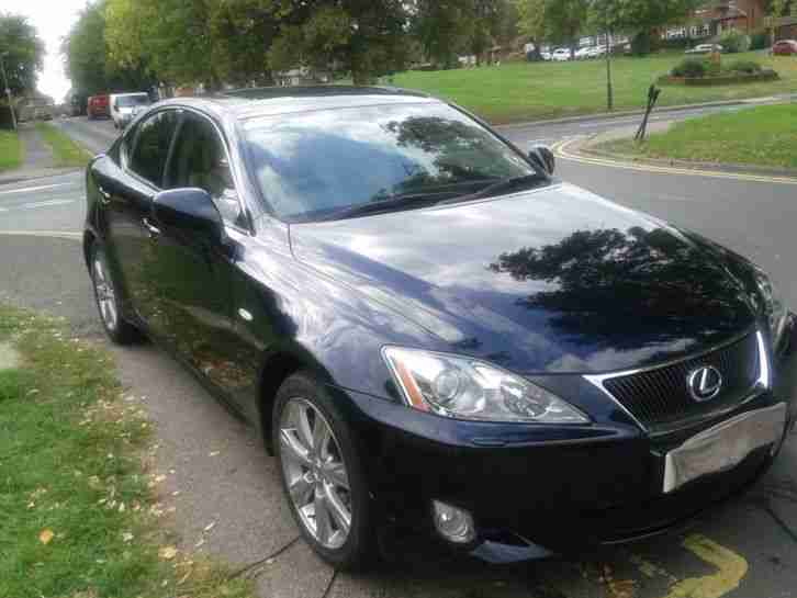 2007 LEXUS IS 220D SE-L BLUE